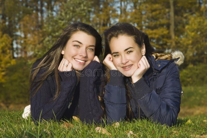 Tienerjaren stock afbeelding