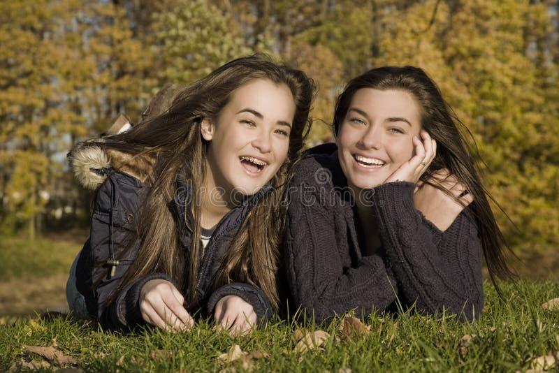 Tienerjaren royalty-vrije stock fotografie