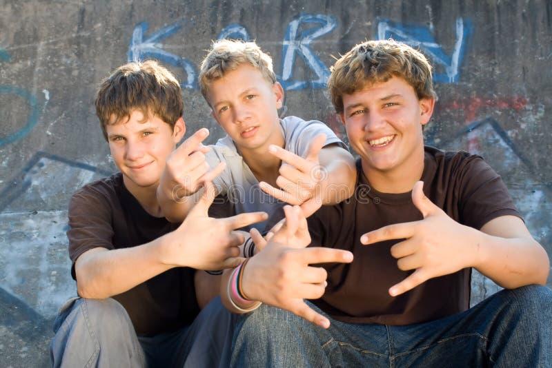 Tienerjaren stock afbeeldingen