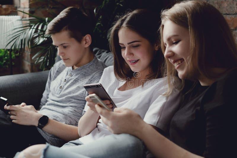 tieners royalty-vrije stock afbeelding