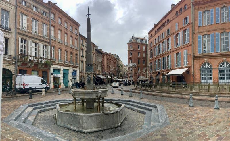 Tienne del ‰ del santo à de Fontain en Toulouse fotografía de archivo libre de regalías