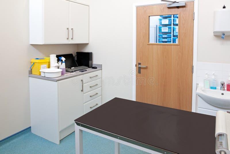 Tierarztprüfungsraum stockfotos