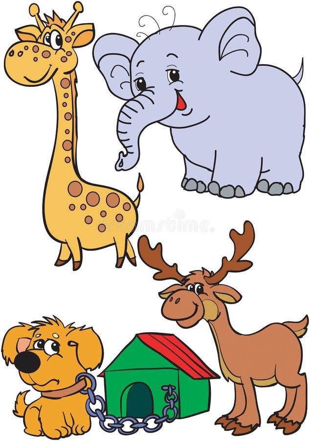 Download Tiere vektor abbildung. Illustration von kunst, tier - 12203061
