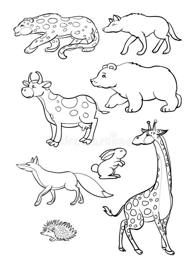 Tiere lizenzfreie abbildung