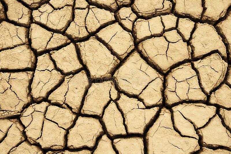 Tierra agrietada imagen de archivo