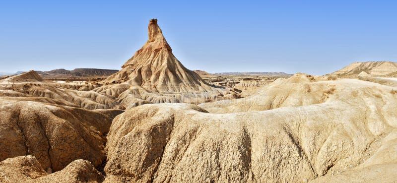 tierra bardenas castil de las reales стоковые изображения