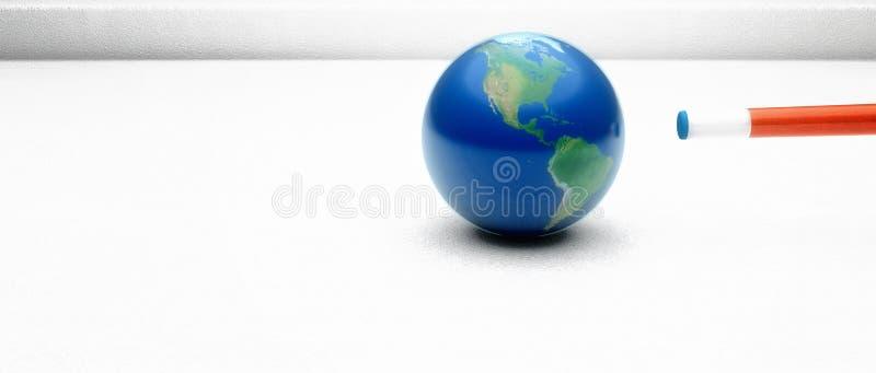 Tierra de la bola de señal stock de ilustración
