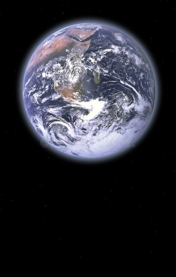 Tierra de madre ilustración del vector