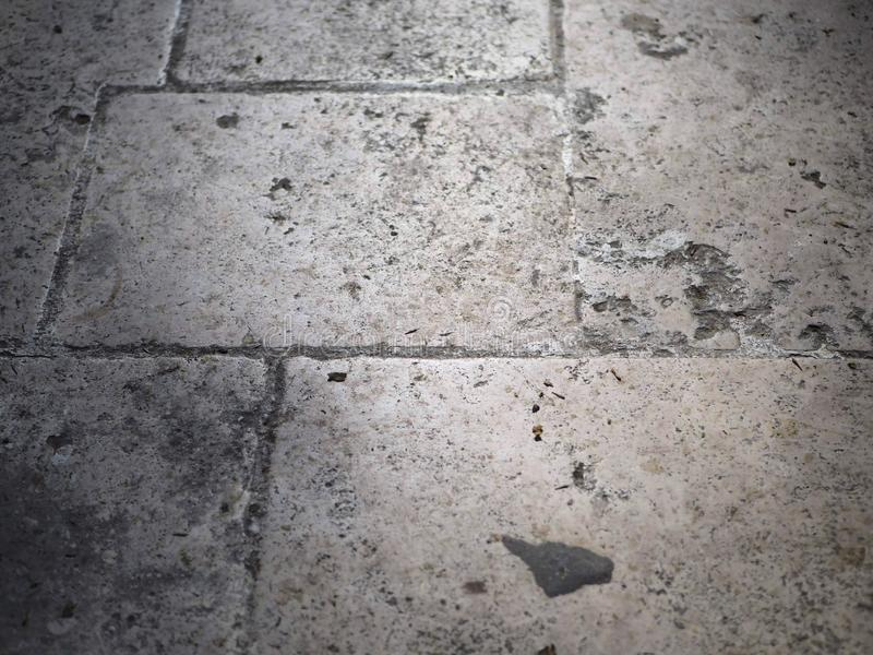 Tierra de piedra de la estructura en gris imagen de archivo