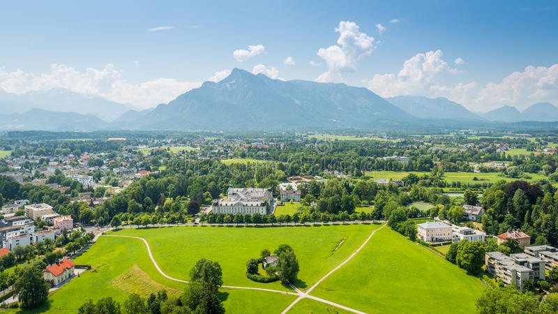 Tierra de Salzburger, Austria foto de archivo libre de regalías
