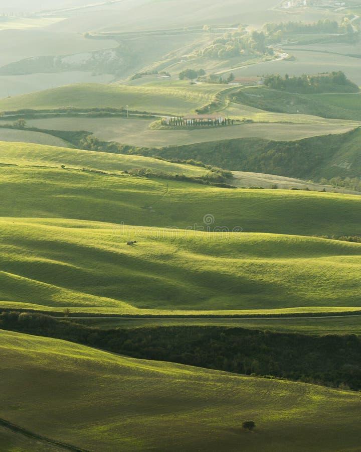 Tierra de Volterra fotografía de archivo