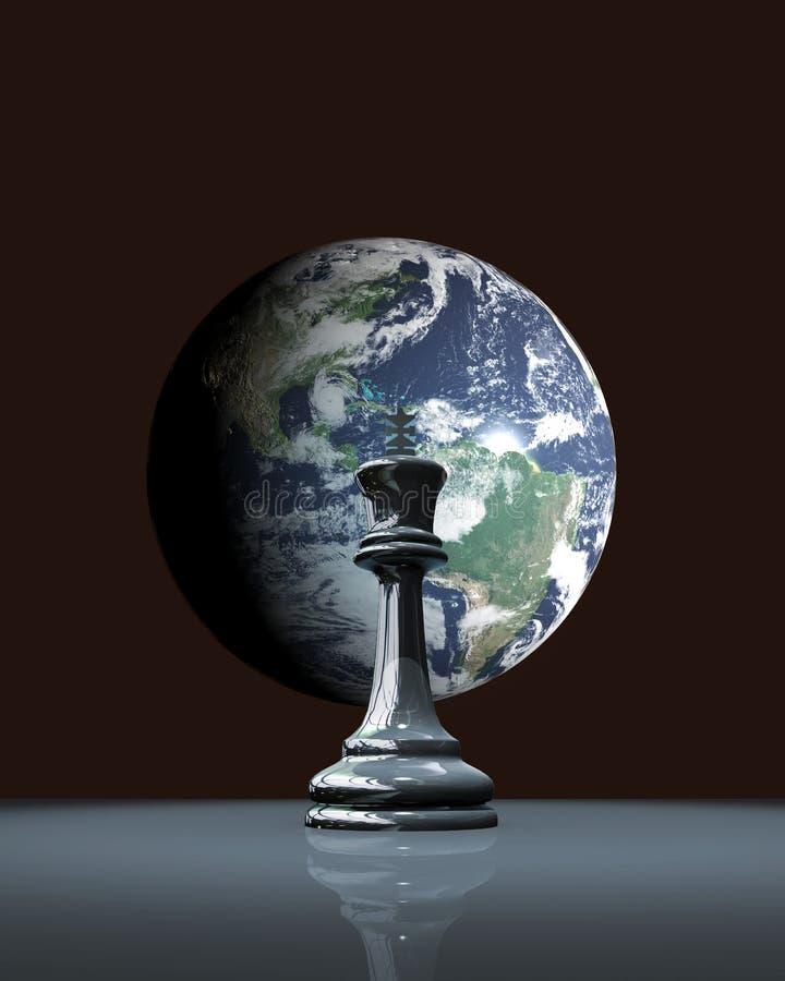 Tierra del ajedrez libre illustration