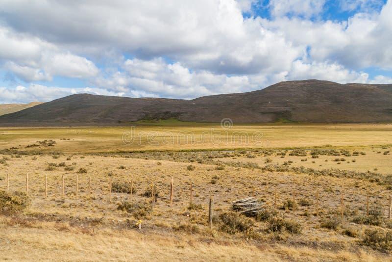 Tierra del Fuego ö arkivbild