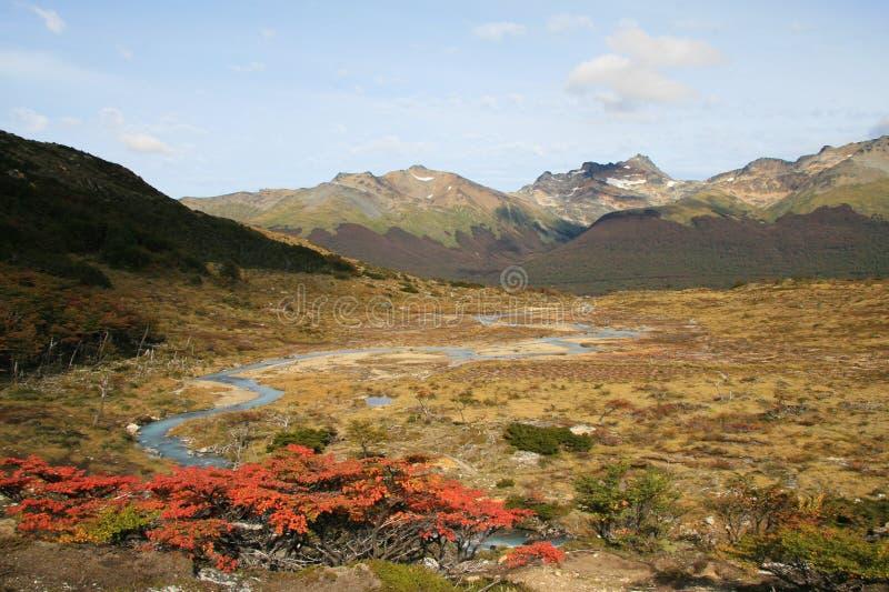 Tierra del Fuego imagens de stock