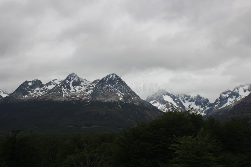 Tierra del Fuego images libres de droits