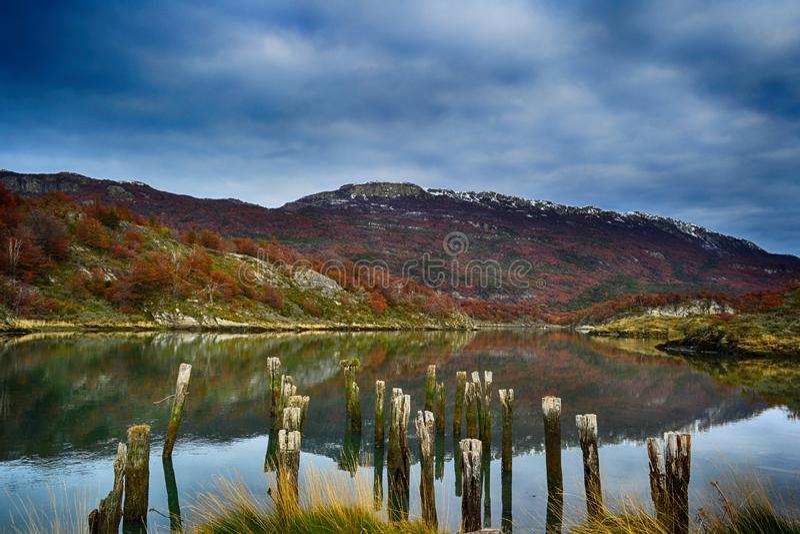 Tierra del Fuego, Argentina immagine stock