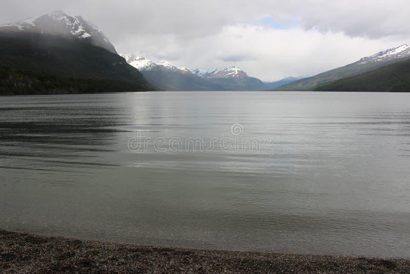 Tierra Del Fuego - Landschap royalty-vrije stock foto