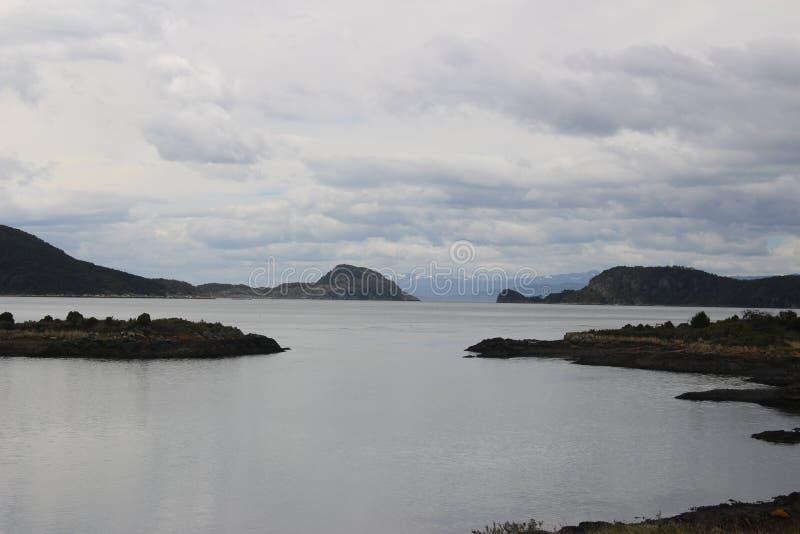 Tierra Del Fuego - paisagem imagem de stock royalty free
