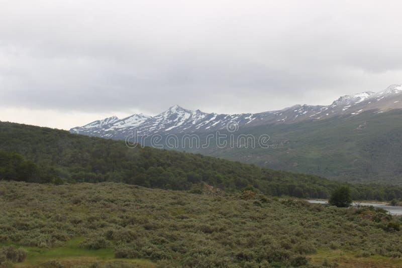 Tierra Del Fuego - paisagem foto de stock royalty free