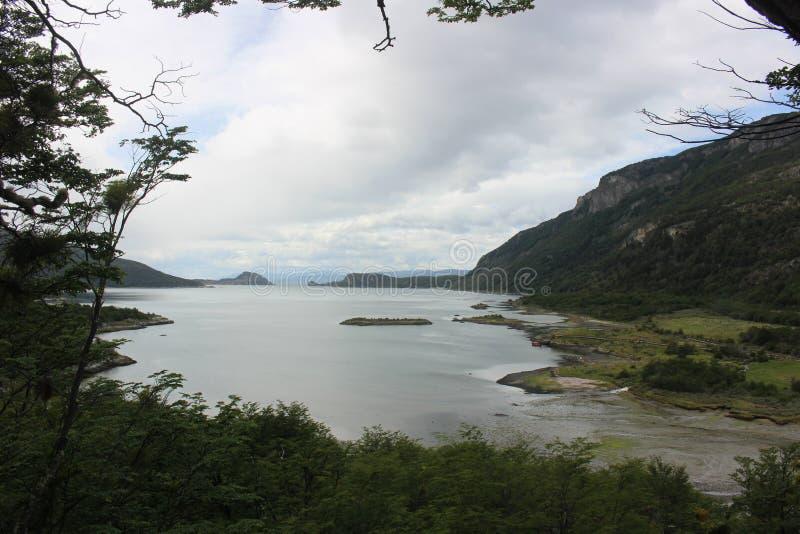 Tierra Del Fuego - paysage photos libres de droits