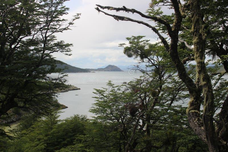 Tierra Del Fuego - paysage photographie stock