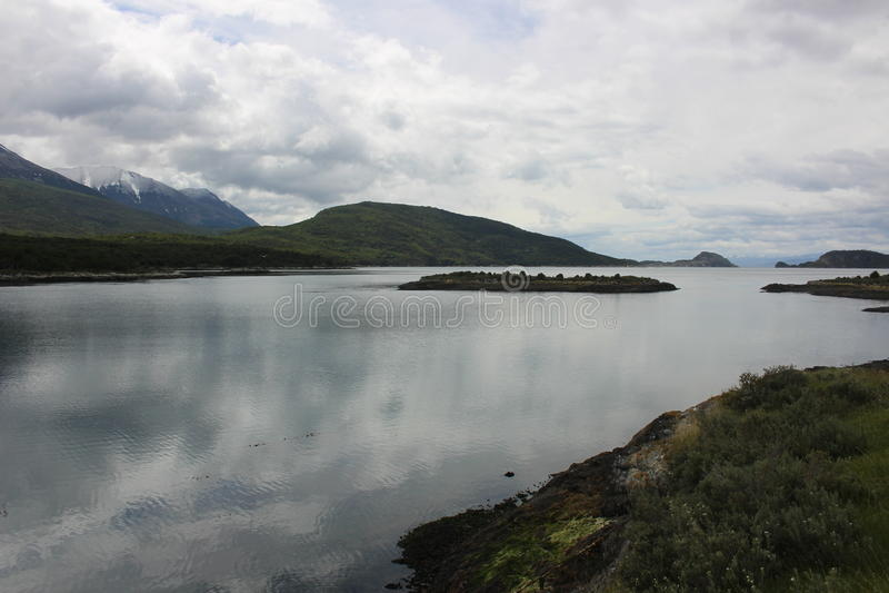Tierra Del Fuego - paysage image libre de droits