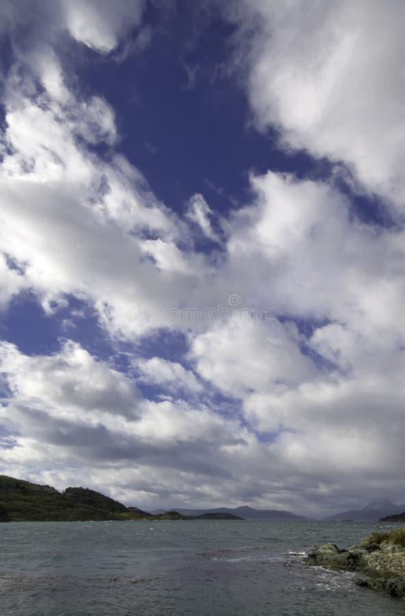 Tierra del Fuego, Ushuaia. Argentina fotografia de stock royalty free