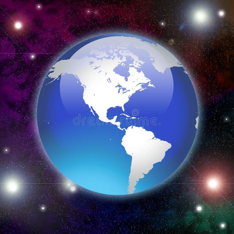 Tierra del planeta ilustración del vector