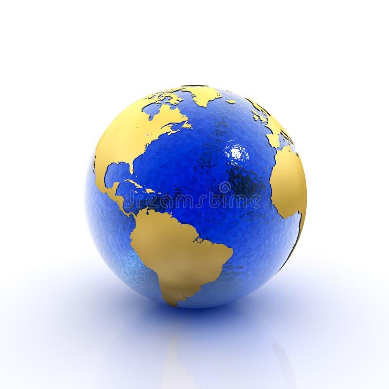 Tierra del planeta stock de ilustración