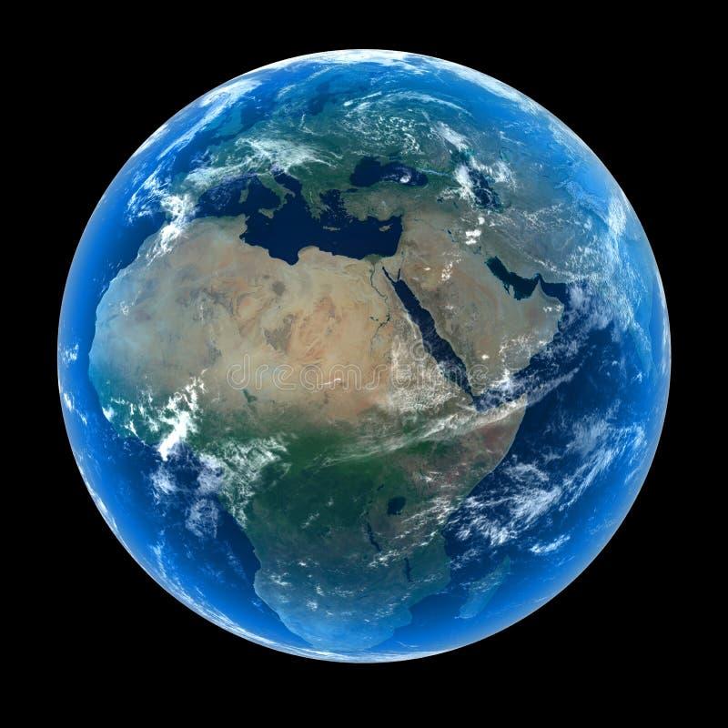 Tierra del planeta foto de archivo libre de regalías