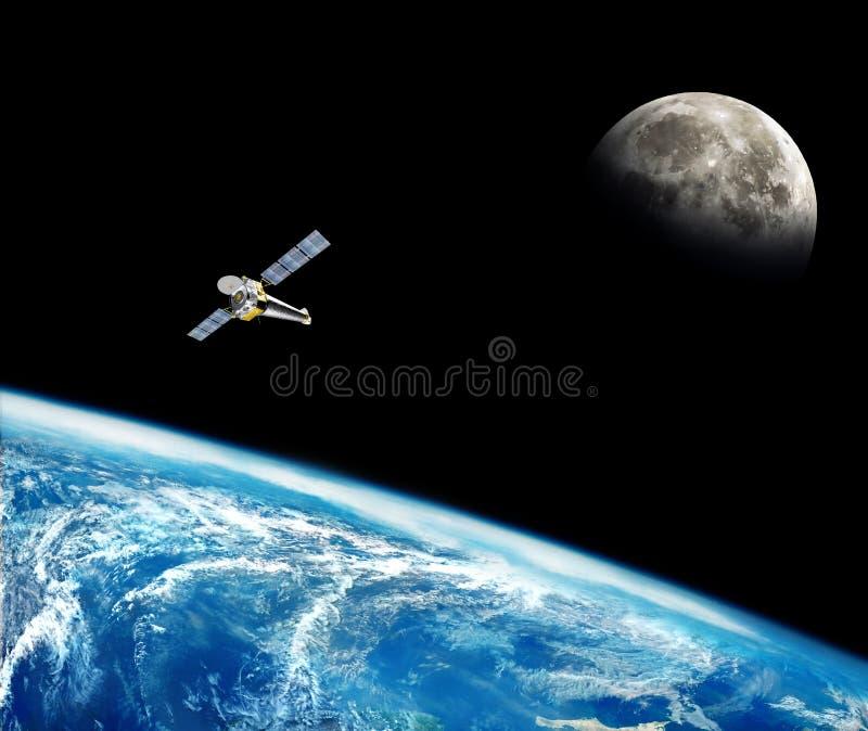 Tierra del planeta en el espacio imágenes de archivo libres de regalías