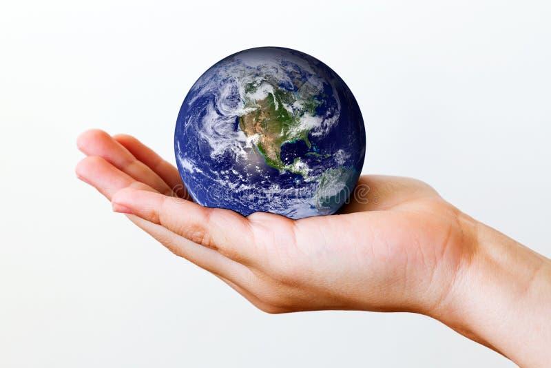 Tierra a disposición foto de archivo libre de regalías