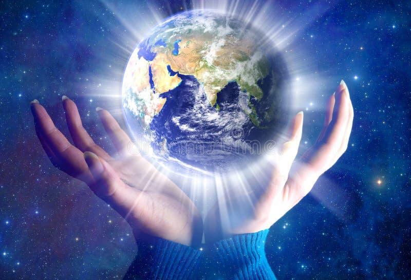 Tierra espiritual imagen de archivo libre de regalías
