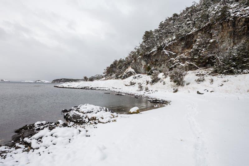Tierra Fuego park narodowy fotografia stock