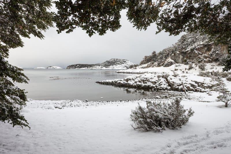 Tierra Fuego park narodowy zdjęcia stock