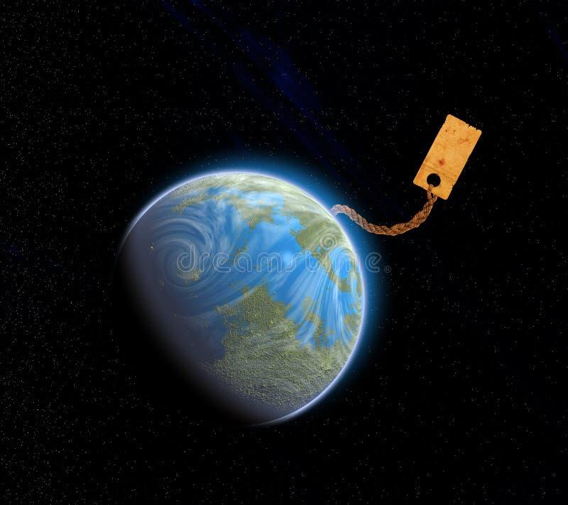 Tierra para la venta ilustración del vector