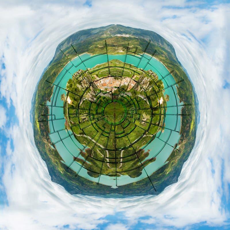 Tierra quebrada del planeta fotos de archivo