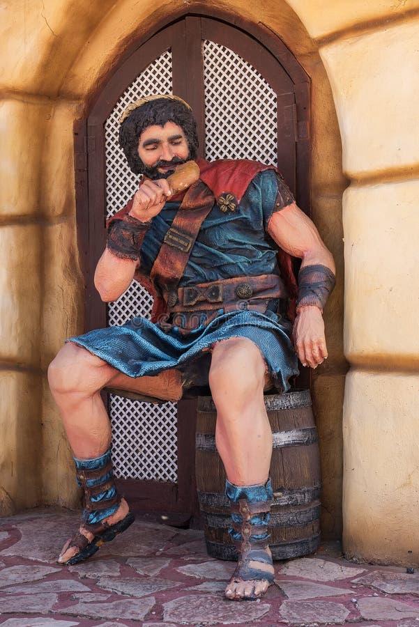 Tierra Santa is een themapark, is zijn familienaam 'Jeruzalem in Buenos aires ' royalty-vrije stock afbeelding