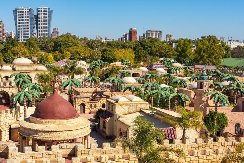 Tierra Santa is een themapark, is zijn familienaam 'Jeruzalem in Buenos aires ' royalty-vrije stock foto's