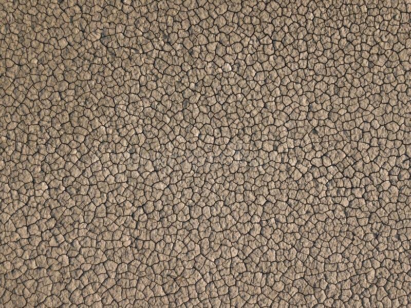 Tierra seca amarilla, sequía foto de archivo libre de regalías