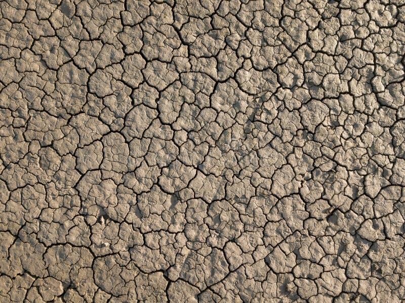 Tierra seca amarilla, sequía imagen de archivo libre de regalías