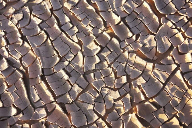 Tierra seca en el desierto del Sáhara. fotos de archivo libres de regalías