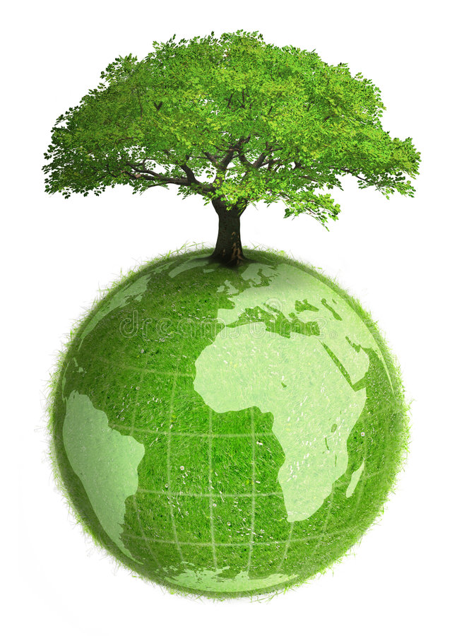 Tierra vegetal ilustración del vector