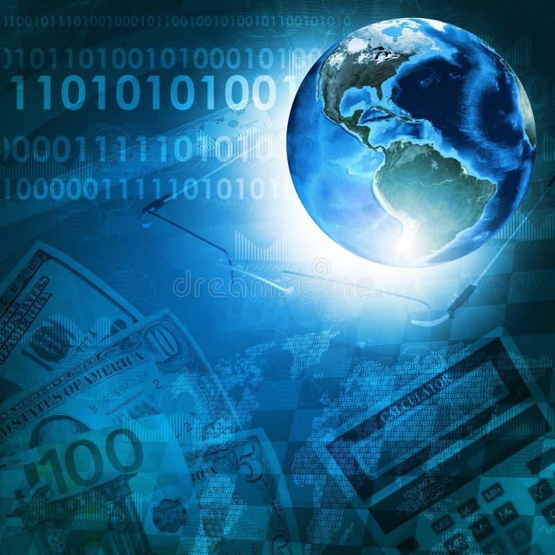 Download Tierra Y Figuras En Fondo Del Dinero Stock de ilustración - Ilustración de calculadora, economía: 42425526