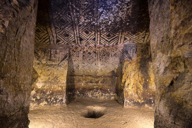 Tierradentro ondergronds ernstig Colombia stock foto's