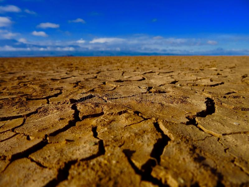 Tierras secas fotos de archivo