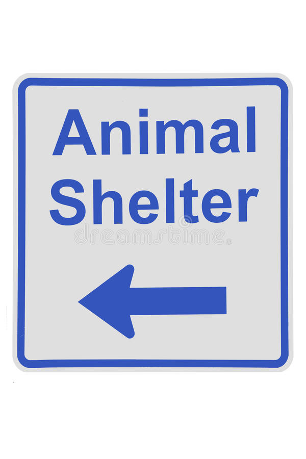 Tierschutzzeichen lizenzfreies stockbild