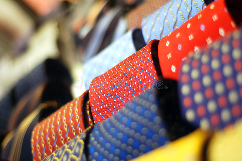 Download Ties stock image. Image of yellow, color, style, store - 8687963