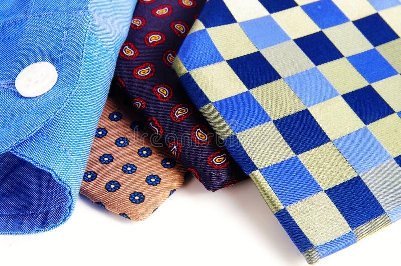 Ties and shirt royalty free stock image