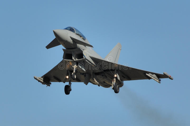 Tifón de Eurofighter imagen de archivo